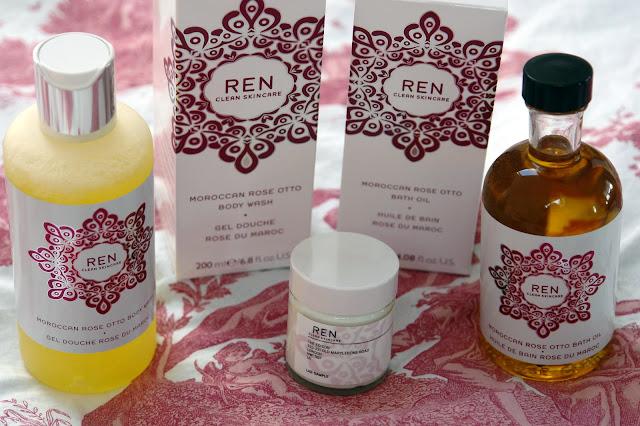REN Moroccan Rose Range REN, beauty, review,