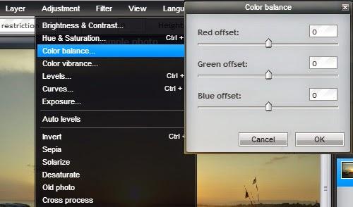 Tool Pixlr Editor