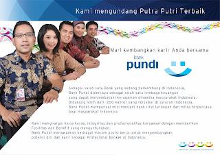 Lowongan Funding Officer Bank Pundi Solo