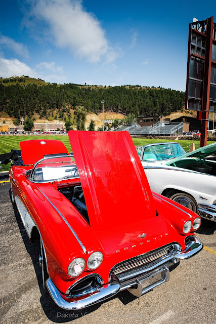 Kool Deadwood Nites Car Show 2015 Little Red Corvette