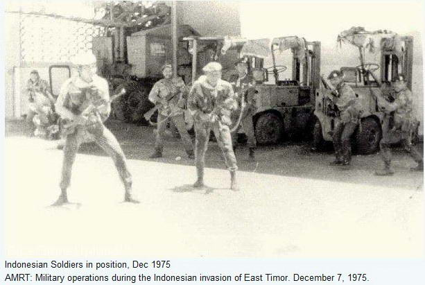 a history of the indonesian invasion and occupation of east timor East timor: genocide of a nation indonesian occupation of east timor that lasted for 23 bloody after the indonesian invasion of east timor and.