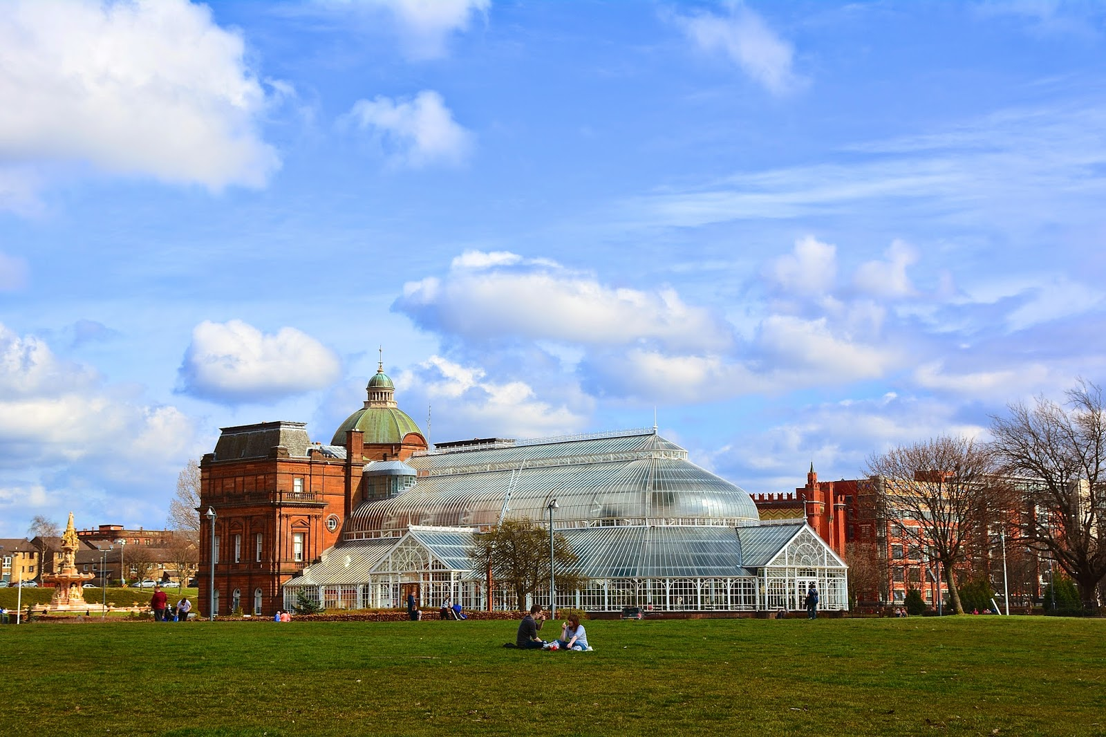 Winter Gardens on Glasgow Green