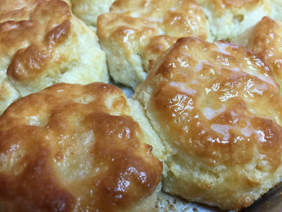 Biscuits at Simply Sara's