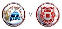 Indian Premier League 45th match Chennai Super Kings vs Kings XI Punjab Online Willow Cricket HD.