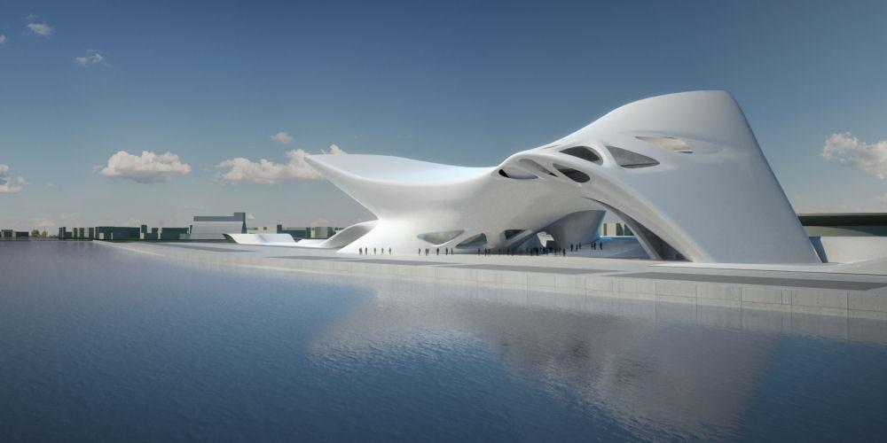 best futuristic architectures photos futuristic architecture. Black Bedroom Furniture Sets. Home Design Ideas
