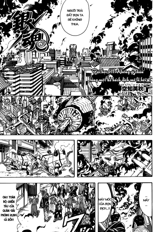 Gintama Chap 611 - Trang 3