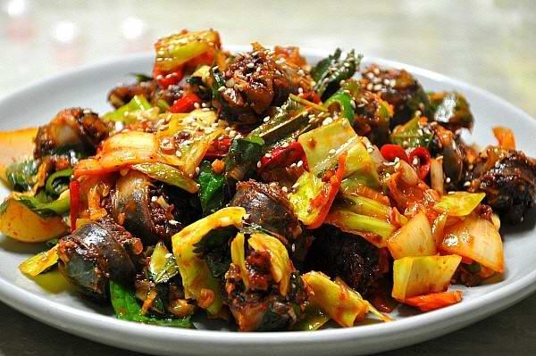 Làm món ăn ngon với Sundae xào (Hàn Quốc)