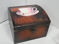 Cappuccino Keepsake Box