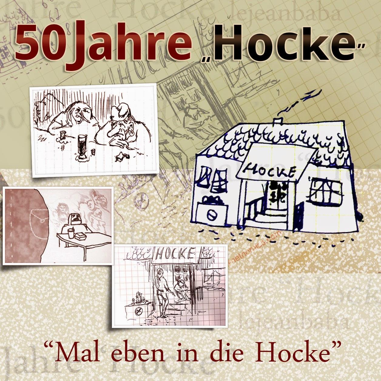 "50 Jahre ""Hocke"" #kreativnotiz"