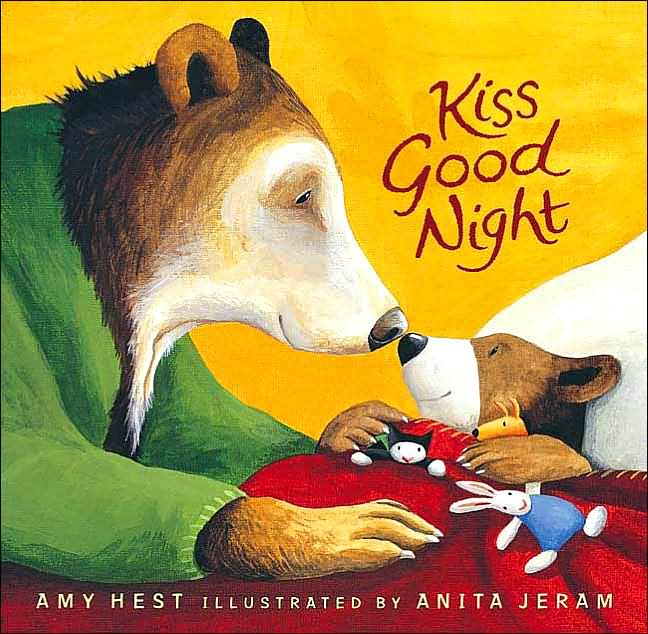 bedtime picture books kiss good night amy hest anita jeram. Black Bedroom Furniture Sets. Home Design Ideas