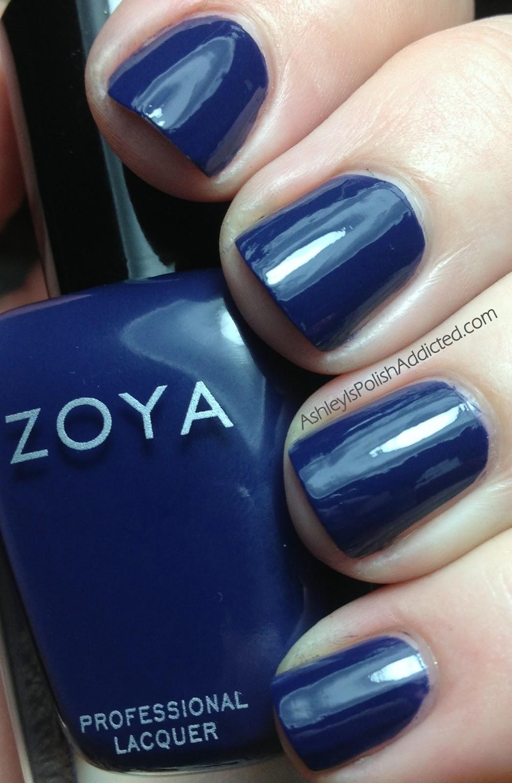 Zoya Natty Vs Sailor Ashley is PolishAddict...