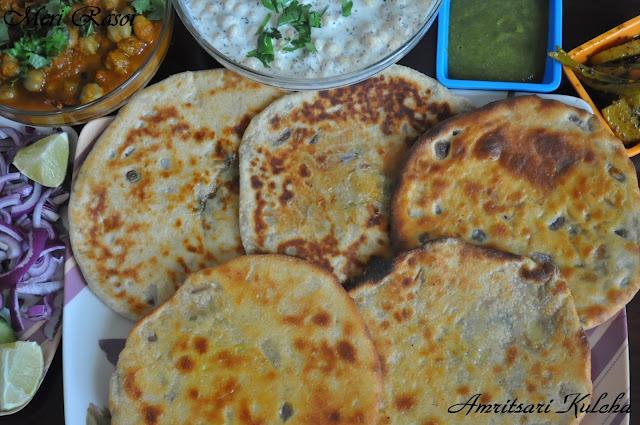Meri rasoi by saumya mishra amritsari kulcha stuffed for Amritsari cuisine