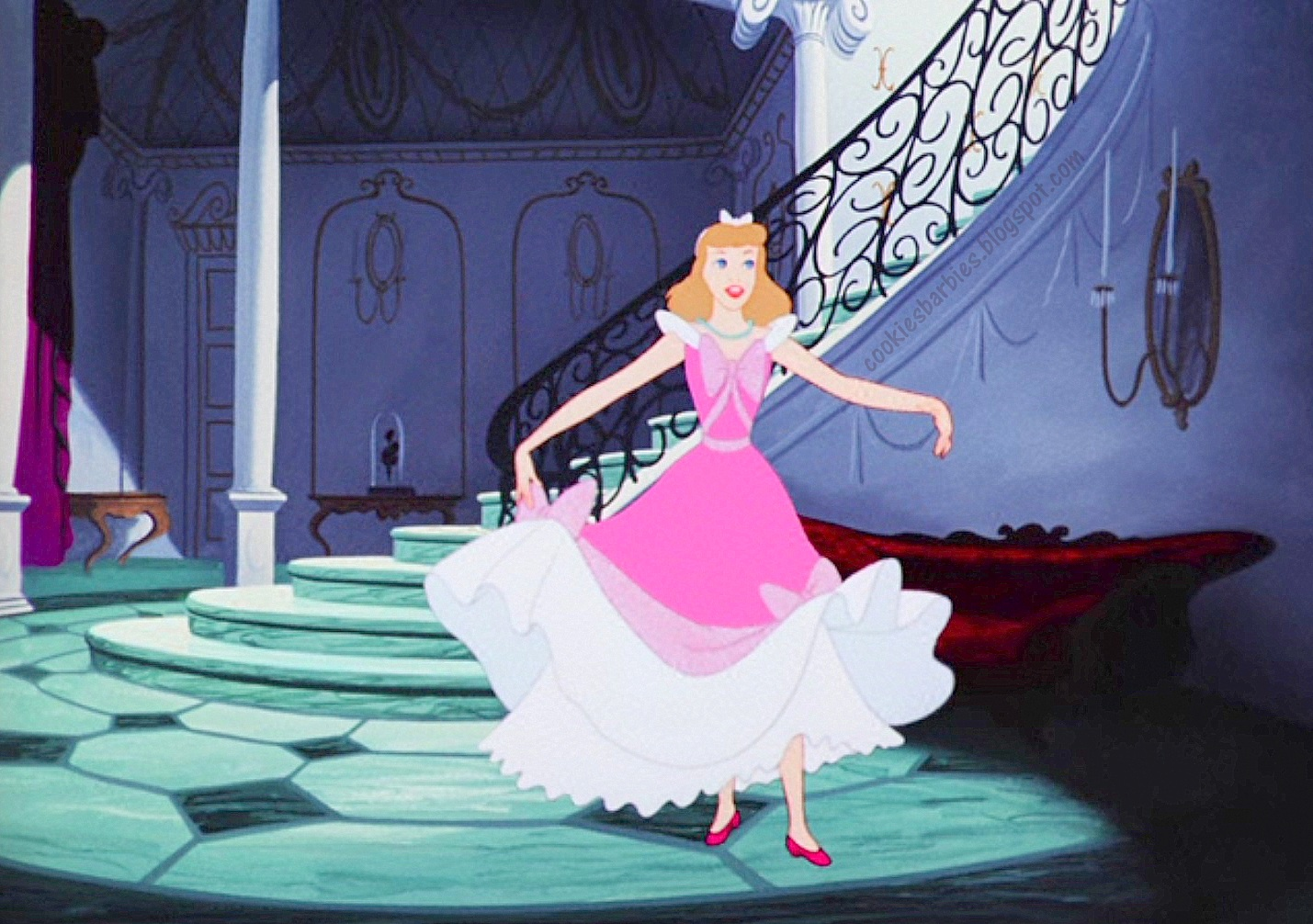 cinderella in pink dress - photo #15