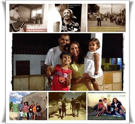 Família Araújo em Missões