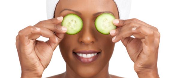 soins du visage femme noire