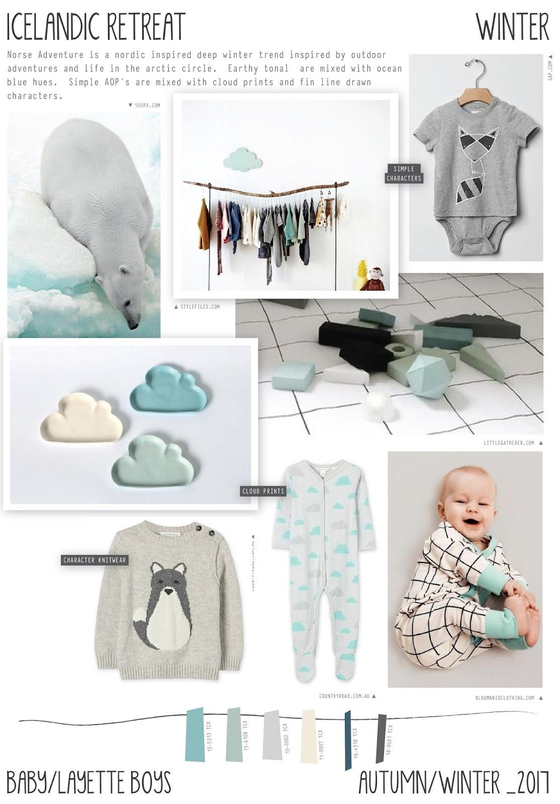 Summer 2017 fashion forecast - Emily Kiddy Icelandic Retreat Autumn Winter 2016 17