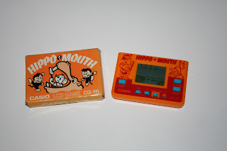 Casio Hippo Mouth game