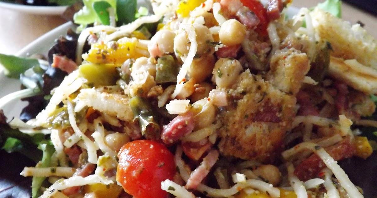 Celle qui cuisinait ou le plaisir de cuisiner salade - Cuisiner des pois chiches ...