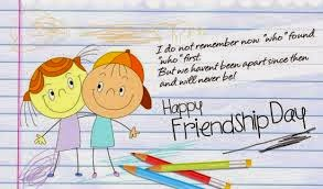 Happy Friendshipday Ecards for you Friend making Wishes for Friendshipday Greetings 2014