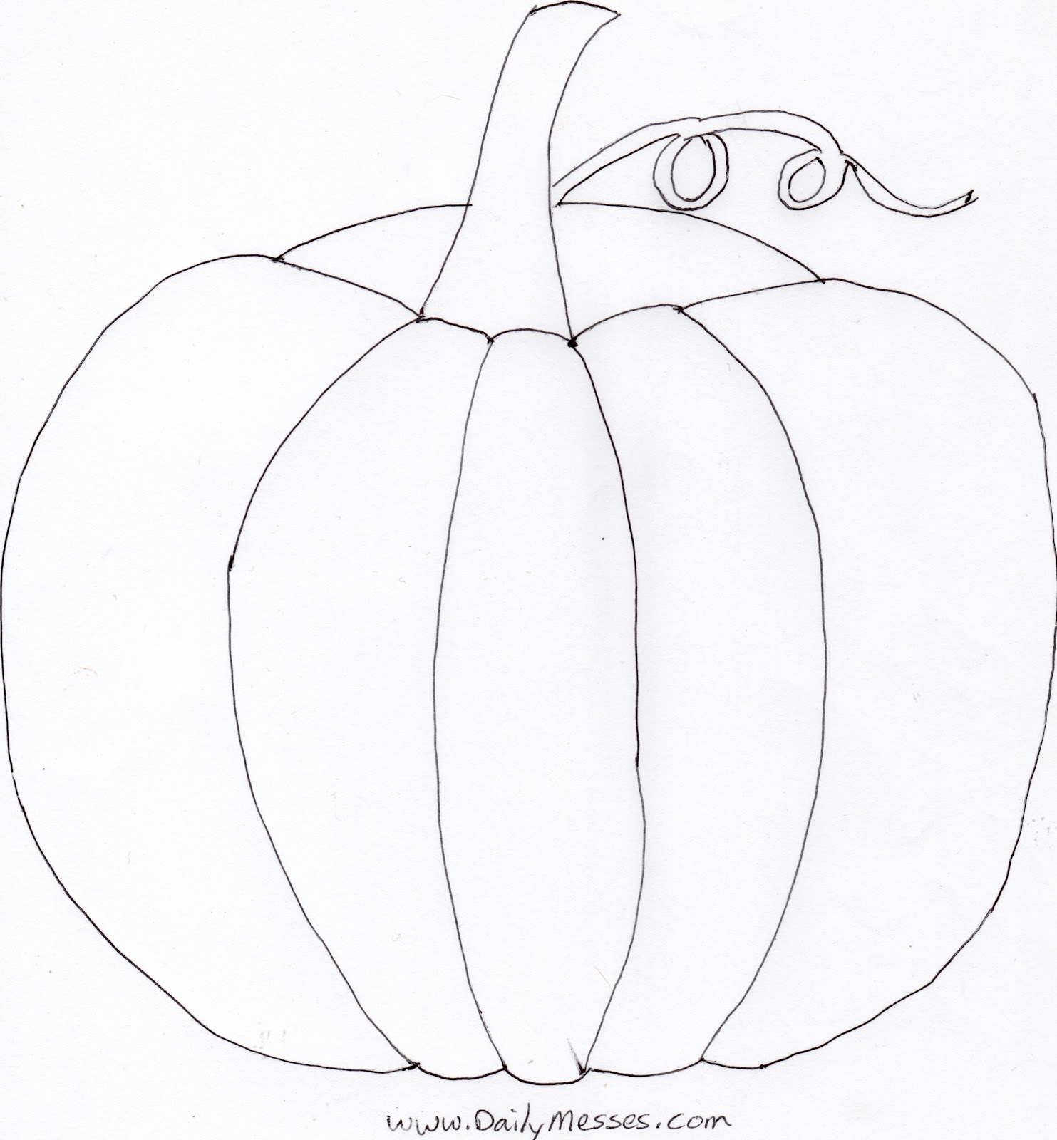 pumpkin cut out coloring pages - photo#18