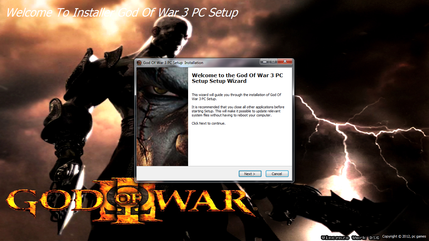 Download God Of War Game Setup Cheap