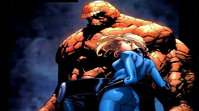 Mr. Fantastic, Invisible Woman, Human Torch, The Thing