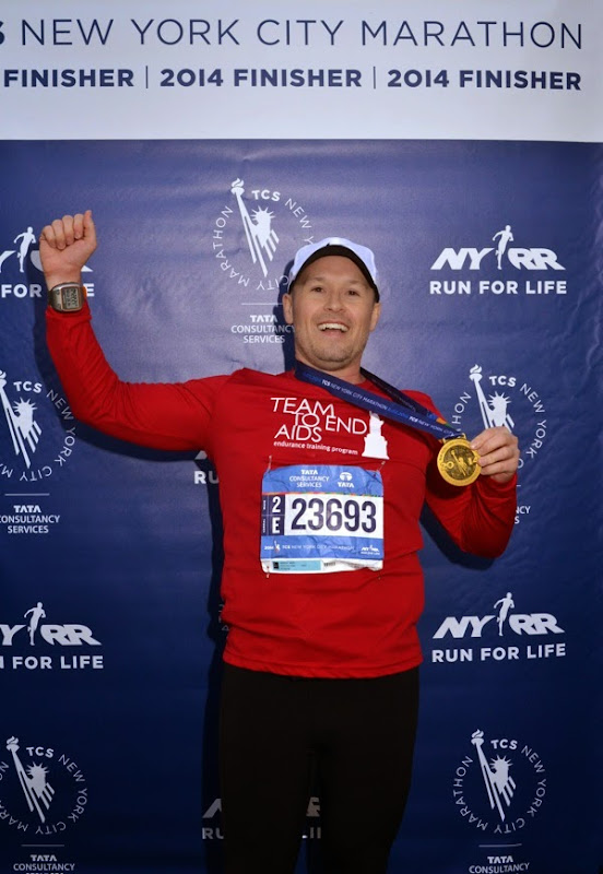 2014 NYC Marathon finisher