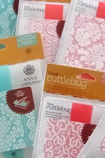 Anna Griffin Cuttlebug folders
