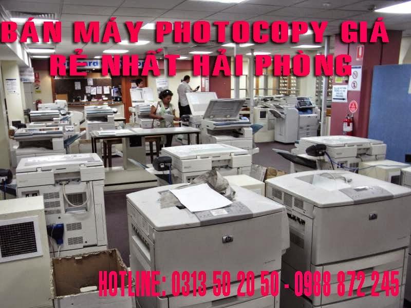 Bán máy photocopy o Hai Phong