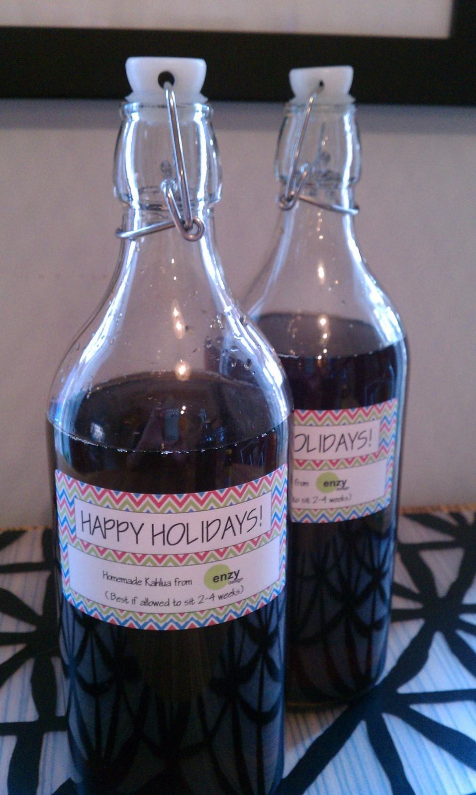 Holiday Gift: Homemade Kahlua