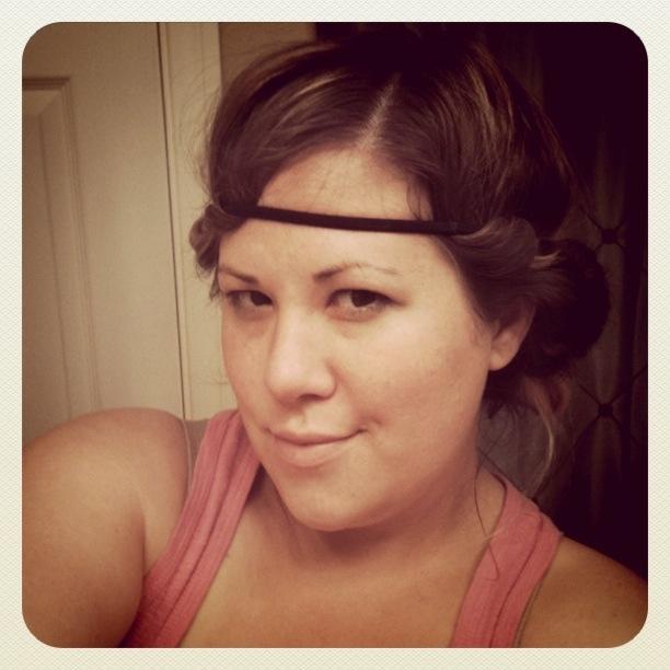 Little Mom Things: No Heat Hair Curl thingamabob