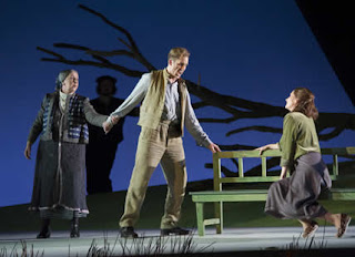 Elizabeth Sikora, Ed Lyon, Ylva Kihlberg - Janacek Jenufa - Opera North - photo Richard H Smith