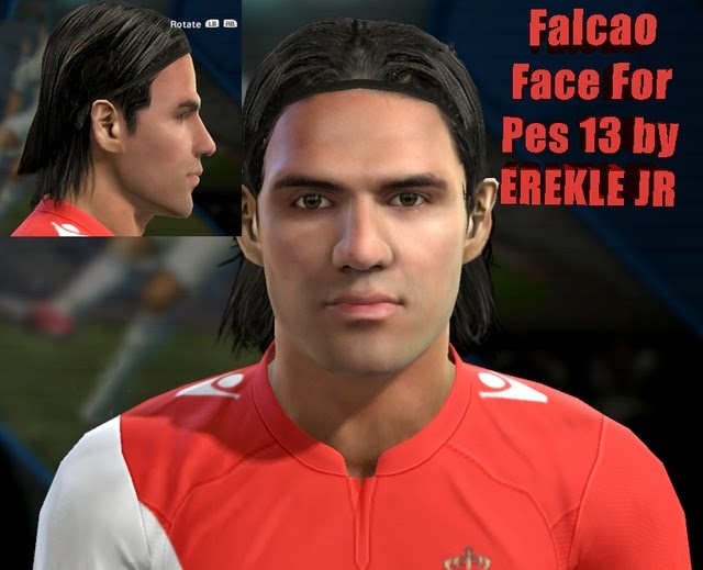 PES 2013 R. Falcao Face By EREKLE JR