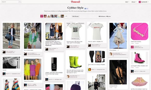 Cybher Style Pinterest