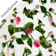 Tulip installation | Oh happy day