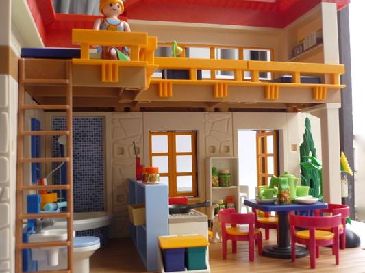 La bo te bazar maison de campagne playmobil for Maison de campagne interieur