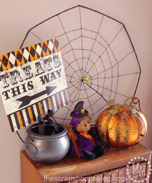 2012 Halloween Mantel & Decor  The Scrap Shoppe ~ 222626_Halloween Decoration Ideas Dollar Tree