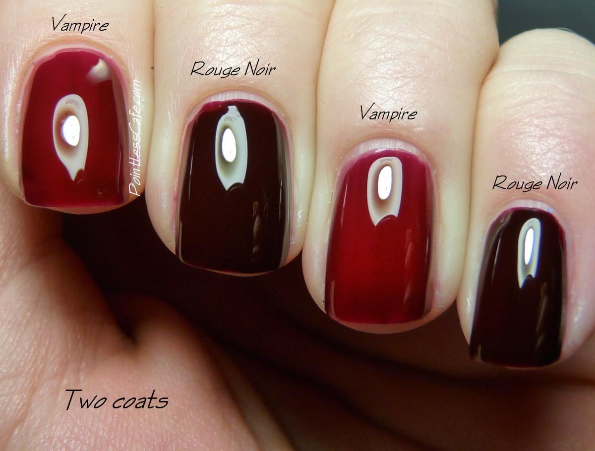 Comparison Request: Chanel Rouge Noir vs piCture pOlish Vampire ...