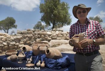 Arqueólogos descubren el palacio del rey David