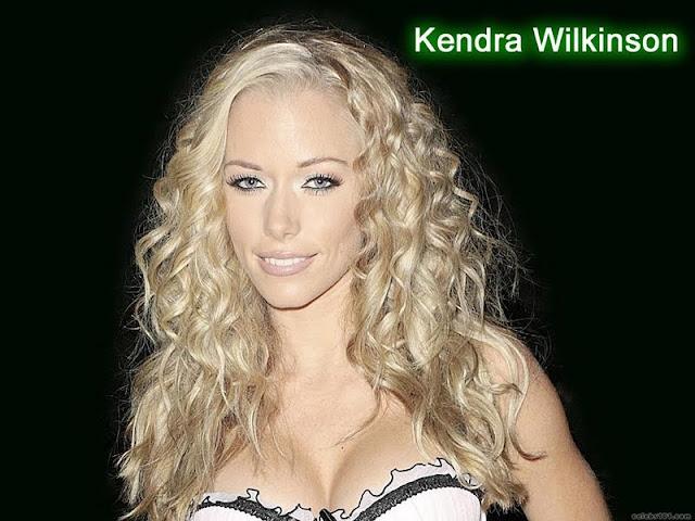 Kendra Wilkinson sexy in dress