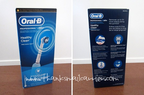 Oral-B toothbrush