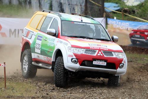 Pajero Sport Dakar