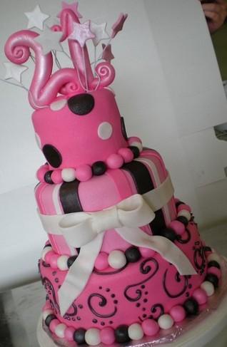 toy story birthday cake Pink 21st Birthday Cake