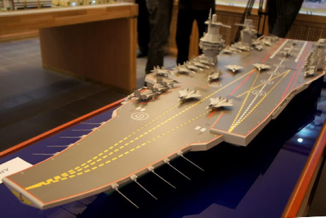 Proposed Russian Aircraft Carrier