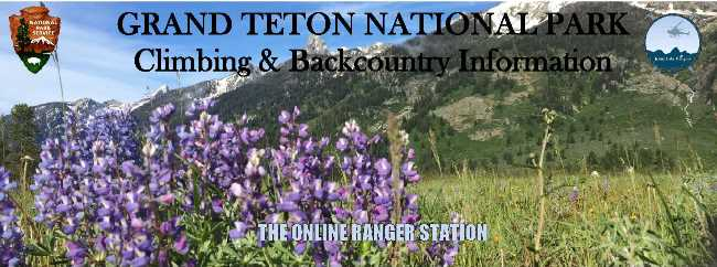 Grand Teton National Park Climbing & Backcountry Information