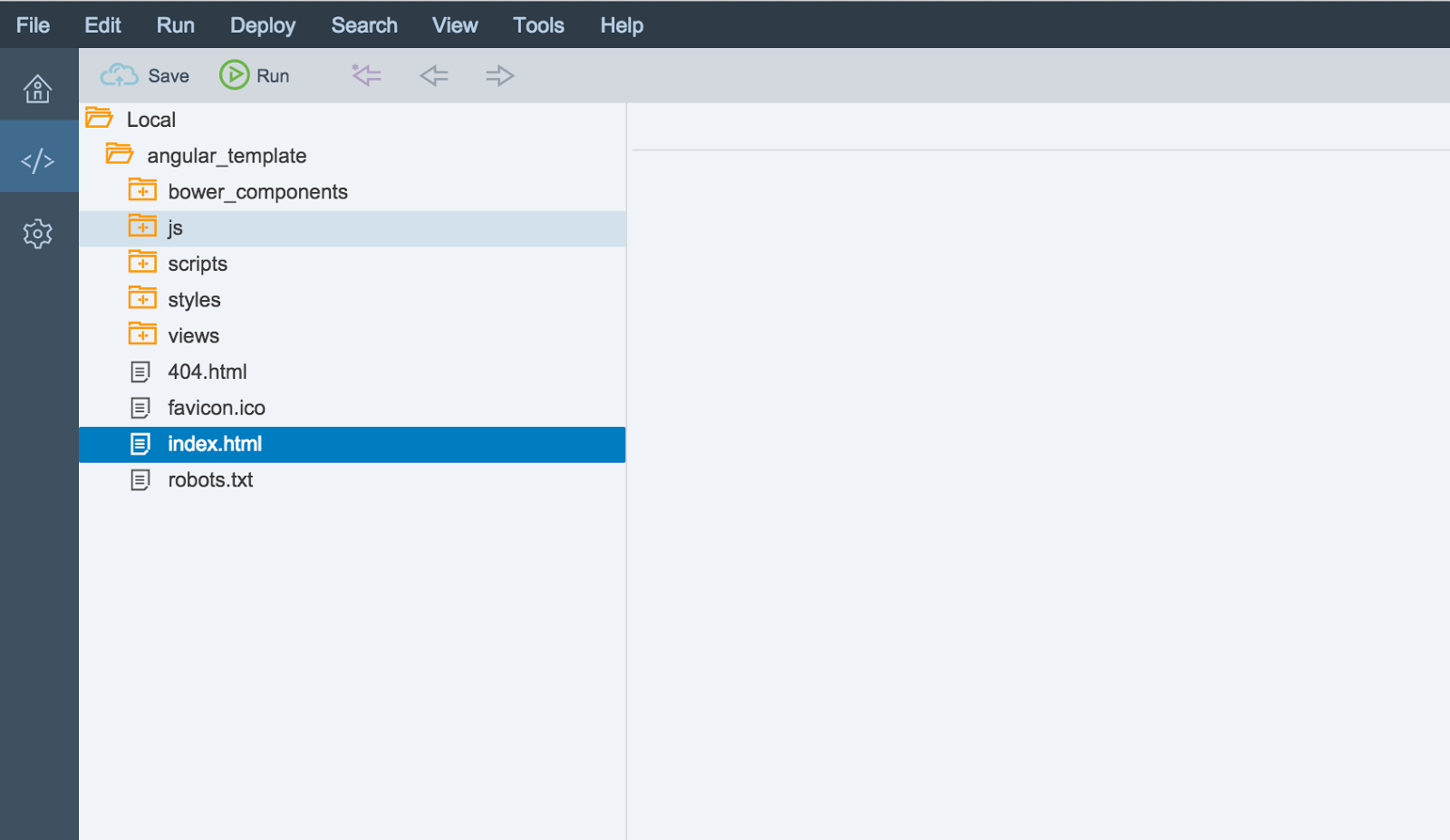 Sap Customer Experience Using An Angularjs Bootstrap Template In