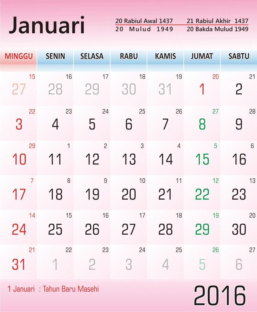 Kalender 2016 Premium