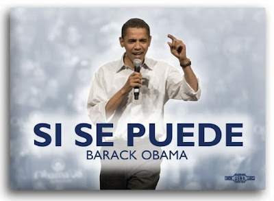 Obama 'Si Se Puede' campaign button