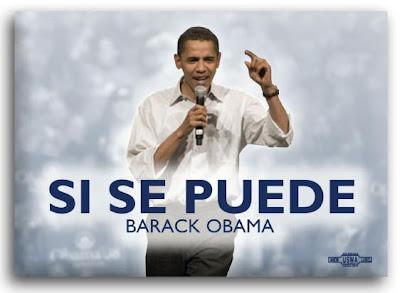 Obama 'Si Se Puede' campaign button