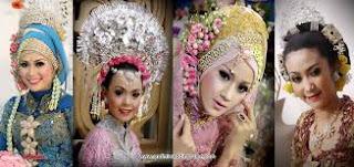 gaun pengantin muslimah di cirebon